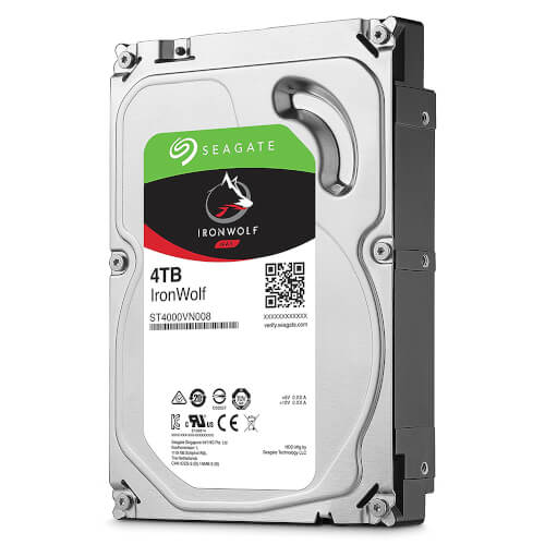 "HDD SEAGATE NAS IRONWOLF 3.5"" 4TB 5900RPM 64MB 