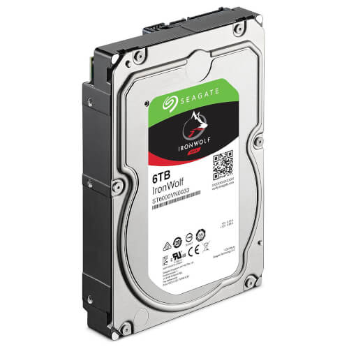 """HDD SEAGATE NAS IRONWOLF 3.5"""" 6TB 7200RPM 256MB 