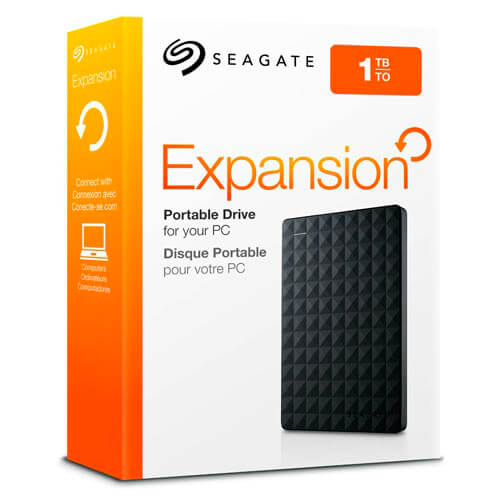 HDD SEAGATE EXTERNO 2.5'' 1TB USB3.0 EXPANSION DESKTOP | Quonty.com | STEA1000400