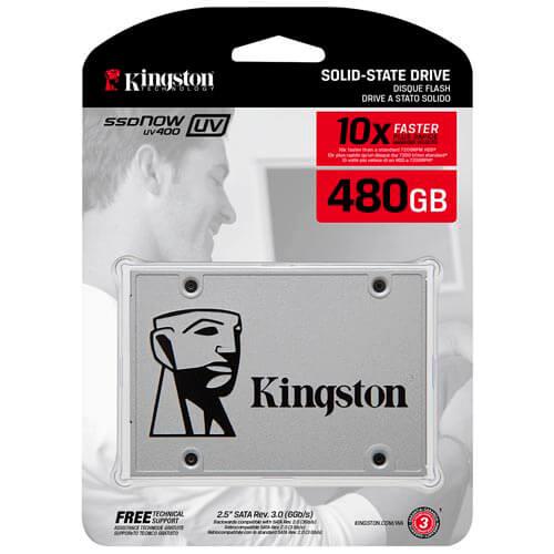 SSD KINGSTON 2.5'' 480GB SATA3 UV400 | Quonty.com | SUV400S37/480G