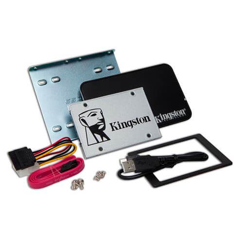 SSD KINGSTON 2.5'' 120GB SATA3 UV400 UPDATE BUNDLE KIT | Quonty.com | SUV400S3B7A/120G