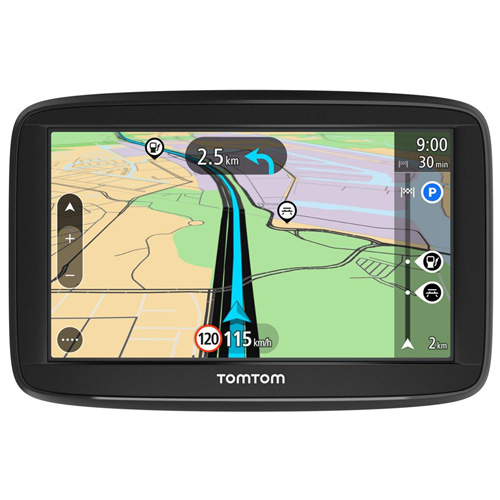 GPS AUTOMOVIL TOMTOM START 62 6'' EUROPA OCCIDENTAL GRATIS DE POR VIDA | Quonty.com | 1AA6.002.00