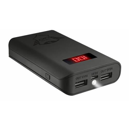 Powerbank/Bateria Externa Trust Gaming Xore Gxt 777 10000mah | Quonty.com | 21788