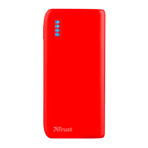 Batería Universal Trust Primo Powerbank 4400 Matte Red | Quonty.com | 22136