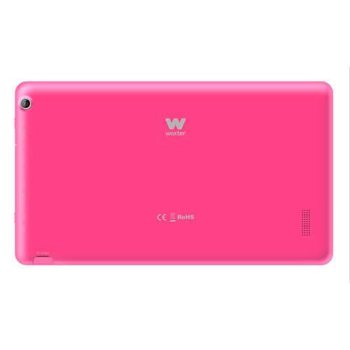PACK - TABLET WOXTER SX-100 10.1'' OCTACORE 1GB-16GB ANDROID4.4.4 BT4.0 ROSA + FUNDA ROSA ATRIL | Quonty.com | PK-SX100+FR