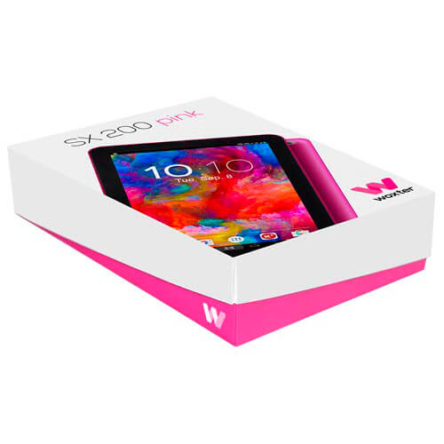 "TABLET WOXTER SX200 10.1"" OCTACORE 1GB+16GB ANDROID6.0 ROSA ALUMINIO 