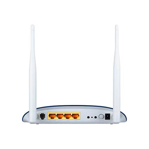 MODEM/ROUTER TP-LINK TD-W8960N ADSL2+ 4PTOS WIFI-N/300MBPS 2ANTENAS | Quonty.com | TD-W8960N