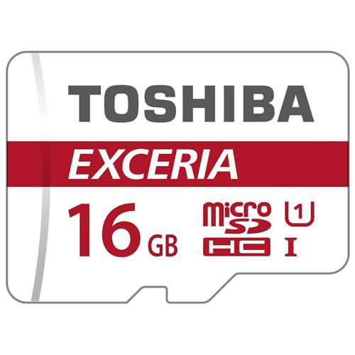 MICROSD TOSHIBA 16GB CL10 UHS-I ADAPTADOR SD | Quonty.com | THN-M302R0160EA