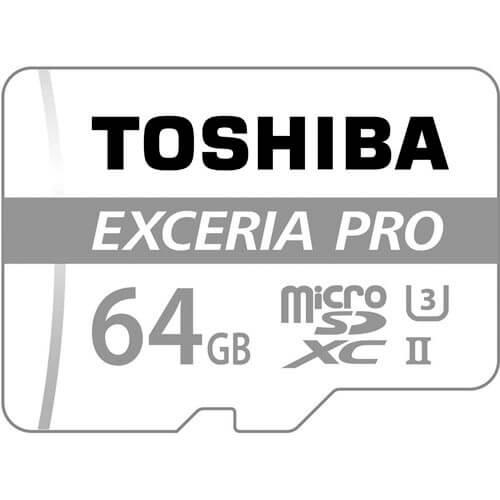 MICROSD TOSHIBA 64GB CL10 UHS-I PRO NAND ADAPTADOR SD   Quonty.com   THN-M401S0640E2