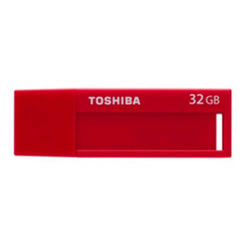 PENDRIVE TOSHIBA 32GB USB3.0 DAICHI ROJO | Quonty.com | THN-U302R0320M4