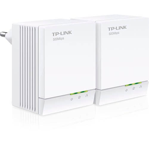 KIT 2 POWERLINE T-PLINK TL-PA4020KIT 2RJ45/500MBPS | Quonty.com | TL-PA4020KIT