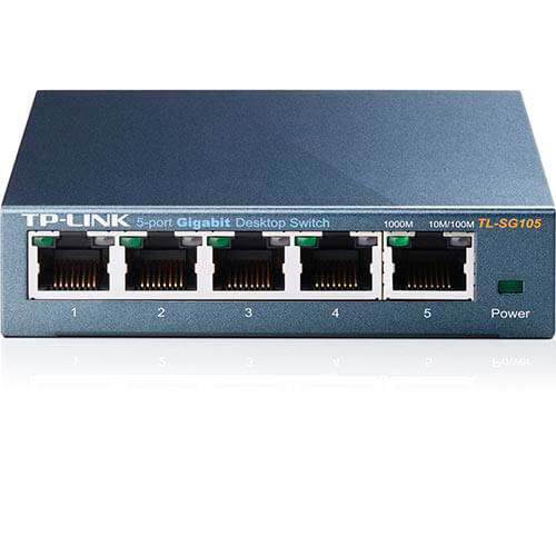 SWITCH TP-LINK 5PTOS 10/100/1000 TL-SG105   Quonty.com   TL-SG105