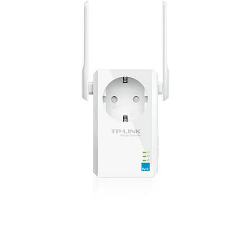 REPETIDOR TP-LINK TL-WA860RE WIFI-N/300MBPS WPS 1ENCHUFE 2ANTENAS | Quonty.com | TL-WA860RE