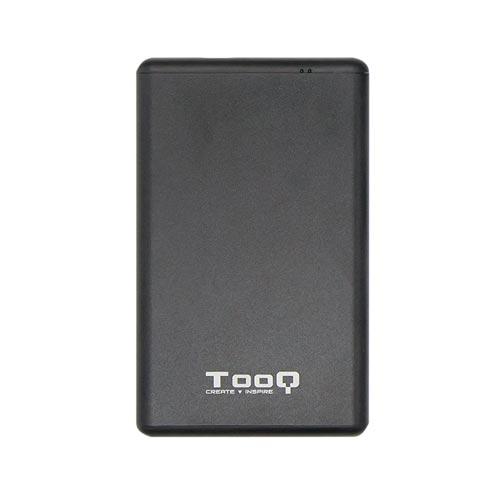 Caja Hdd Tooq Tqe-2533b 2.5'' Sata Usb-C / Usb3.1 | Quonty.com | TQE-2533B