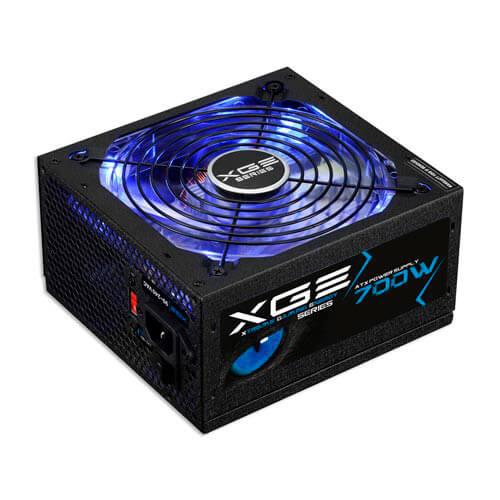 Fuente Tooq Gaming 700w Pfc-Activo 80+Bronze 14cm Atx | Quonty.com | TQXGEII-700SAP