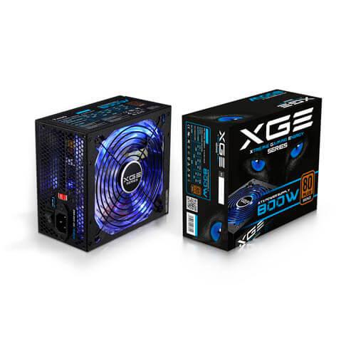 Fuente Tooq Gaming 800w Pfc-Activo 80+ 14cm Atx | Quonty.com | TQXGEII-800SAP