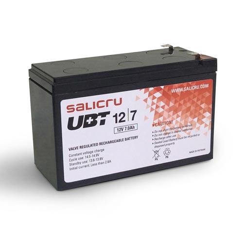 BATERIA SAI SALICRU UBT 12V/7AH | Quonty.com | UBT 12/7