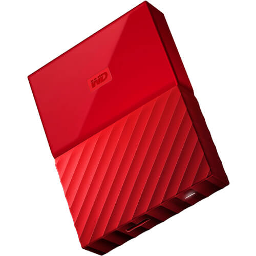 HDD WD EXT 2.5'' 4TB USB3.0 MY PASSPORT WORLDWIDE ROJO | Quonty.com | WDBYFT0040BRD-WESN