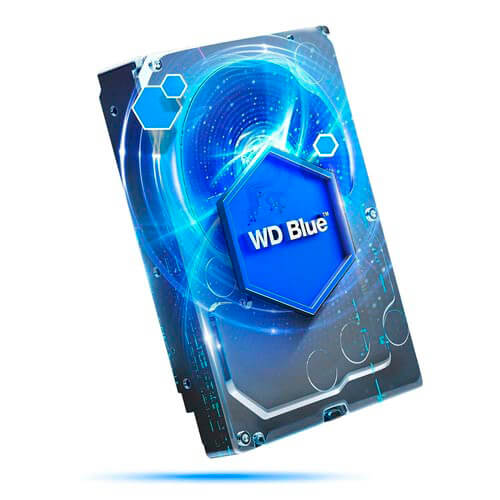 Hdd Wd 3.5'' 4tb 5400rpm 64mb Sata3 Blue | Quonty.com | WD40EZRZ