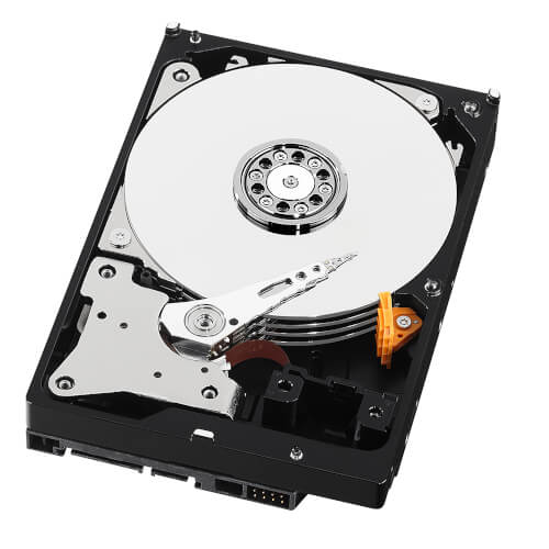 HDD WD NAS 3.5'' 8TB 5400RPM 128MB SATA3 RED | Quonty.com | WD80EFAX