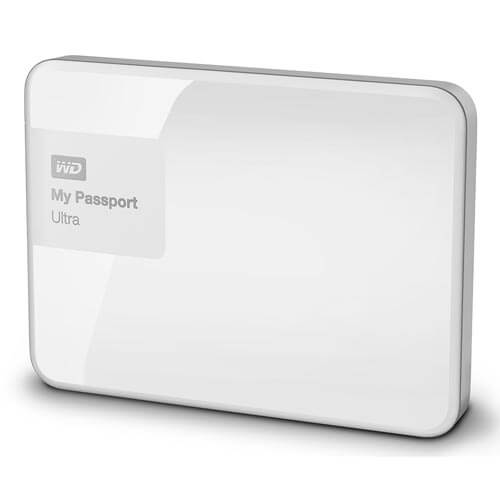 HDD WD EXTERNO 2.5'' 1TB USB3.0 MY PASSPORT ULTRA BLANCO | Quonty.com | WDBGPU0010BWT