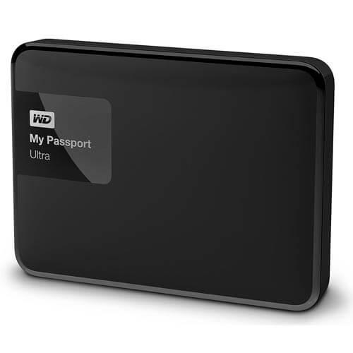 "HDD WD EXTERNO 2.5"" 2TB USB3.0 MY PASSPORT ULTRA NEGRO | Quonty.com | WDBBKD0020BBK"