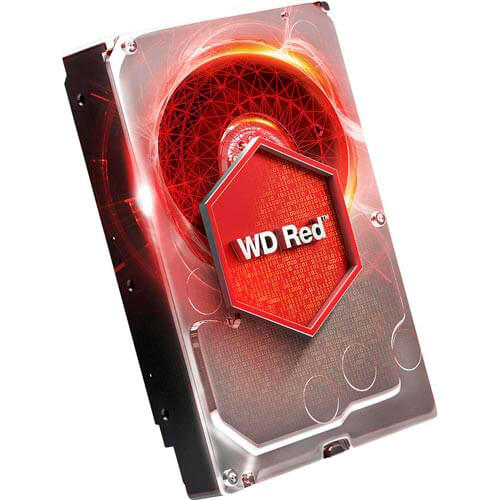 Hdd Wd Nas 3.5'' 1tb 5400rpm 64mb Sata3 Red | Quonty.com | WD10EFRX