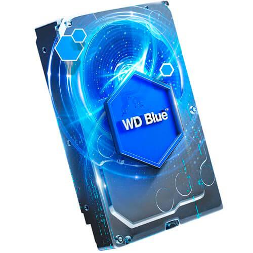 Hdd Wd 3.5'' 1tb 5400rpm 64mb Sata3 Blue | Quonty.com | WD10EZRZ