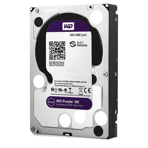 Hdd Wd 3.5'' 6tb 5400rpm 64mb Sata3 Purple | Quonty.com | WD60PURZ