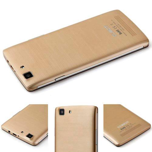 SMARTPHONE CUBOT X12 5'' IPS QUADCORE 1GB/8GB 4G 8/5MPX DUALSIM A5.1 GOLD | Quonty.com | X12