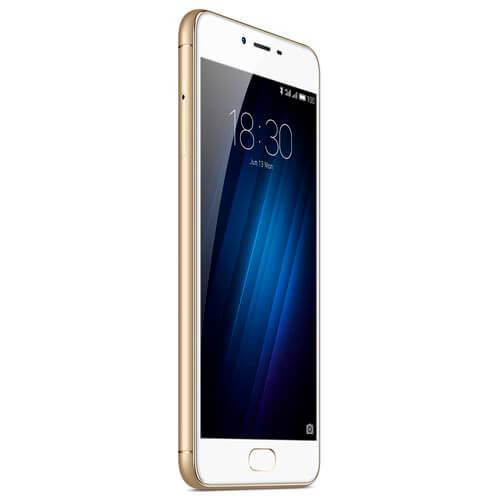 SMARTPHONE MEIZU M3S 5''HD OCTACORE 2GB/16GB 4G 5/12MPX ORO   Quonty.com   Y685H-2/16GW
