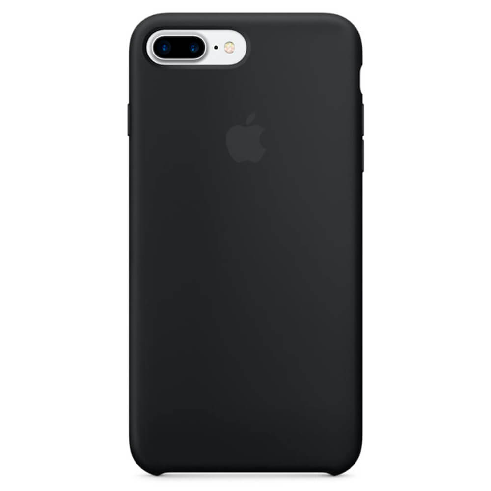 Funda apple para iphone 7 plus silicona negro quonty com - Fundas iphone silicona ...