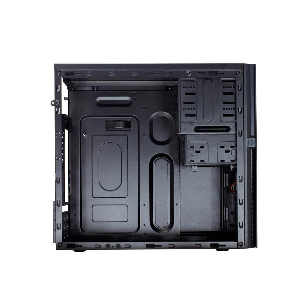 Torre, PC, Acero, Negro, Micro ATX, Hogar//Oficina Caja de Ordenador CoolBox M-660 Torre Negro