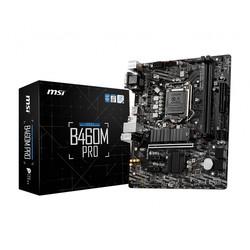Placa Msi B460m Pro Intel Ddr4 Hdmi Pcie3.0 Sata3 Usb3.2 Matx | Quonty.com | 911-7C88-022