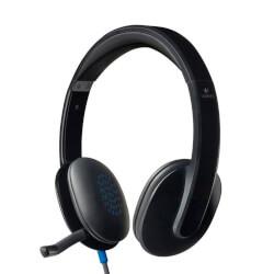 Auriculares Micro Logitech H540 Negro | Quonty.com | 981-000480