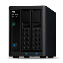 "WD NAS 2 BAHIAS 3.5"" My Cloud Pro PR2100 8TB My Cloud Pro | Quonty.com | WDBBCL0080JBK-EESN"