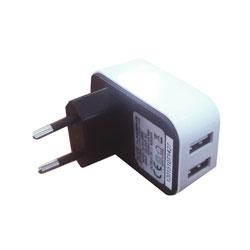 CARGADOR USB PARED 3GO 2PTOS 4A   Quonty.com   ALIMUSBH3