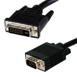 ADAPTADOR/CABLE 3GO DVI 24+5/M - VGA HDB15/M 2M | Quonty.com | CDVIVGA