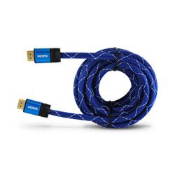 CABLE HDMI MACHO-MACHO 5M 3GO ORO 24K V2 | Quonty.com | CHDMI52