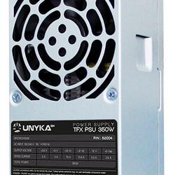 FUENTE UNYKA 350W PFC-ACTIVO 80+BRONCE 8CM TFX   Quonty.com   52004