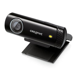 WEBCAM CREATIVE LIVE! CAM CHAT HD 720P USB NEGRO | Quonty.com | 73VF070000001