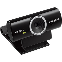 WEBCAM CREATIVE LIVE CAM SYNC HD NEGRA | Quonty.com | 73VF077000001