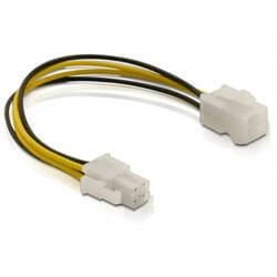 CABLE ALARGADOR DELOCK ATX 4 PINES M/H | Quonty.com | 82428