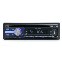 MUSE AUTORRADIO CD MP3 USB & TF CARD READER 4*40W M-1009 MR | Quonty.com | M-1009 MR