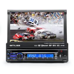 Muse M-728 DR sintonizador de CD/DVD para el coche   Quonty.com   M-728 DR