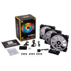 VENTILADOR CAJA CORSAIR LL120 RGB 120MM DUAL LIGHT LOOP RGB   Quonty.com   CO-9050072-WW