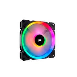 VENTILADOR CAJA CORSAIR LL140 RGB 140MM DUAL LIGHT LOOP RGB | Quonty.com | CO-9050073-WW