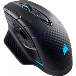 RATON CORSAIR DARK CORE RGB NEGRO WIRELESS/WIRED 16000 DPI | Quonty.com | CH-9315011-EU