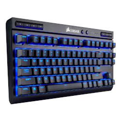TECLADO CORSAIR K63 WIRELESS MECHANICAL BLUE LED CHERRY MX | Quonty.com | CH-9145030-ES