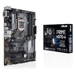 PLACA ASUS PRIME H370-A INTEL1151 4DDR4 HDMI PCIE3.0 M.2 SATA3 USB3.1 ATX   Quonty.com   90MB0XN0-M0EAY0